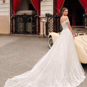 abiti da sposa principesco aire barcelona