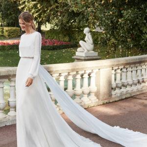 abiti da sposa scivolato aire barcelona