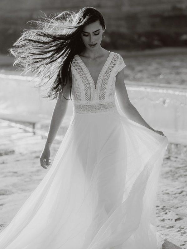 abiti da sposa boho