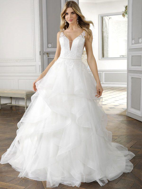 abiti da sposa principesco