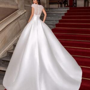 abiti da sposa in mikado